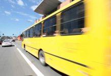 Ônibus do transporte público de Joinville