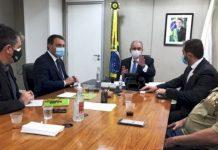 Em Brasília governador reforça demandas de Santa Catarina ao novo ministro da Saúde