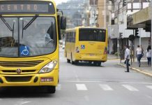 Ônibus transporte público de Joinville terá horário diferenciado no aniversário da cidade
