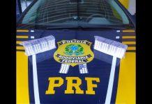 PRF flagra motorista de carreta com mais de 1.500 comprimidos de rebite na BR-280