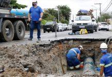 Quatro bairro de Joinville estão com abastecimento de água comprometido