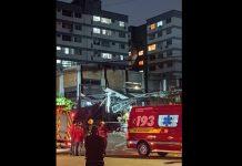 Explosão e incêndio em empresa