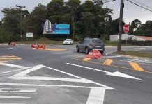 nova rotatória rua marquês de olinda